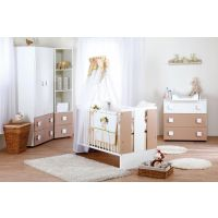 Klups - Mobilier camera copii Paula Latte