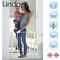 Lindam - Poarta de siguranta Easy Fit Plus Deluxe