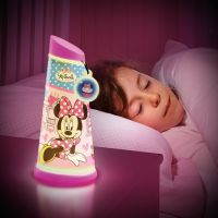World Apart - Veioza 2 in 1 Go Glow Minnie Mouse