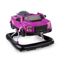 Bright Starts - Premergator si antepremergator 3 in 1, Ford F-150 Raptor - Electric Magenta