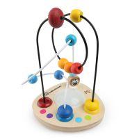 Baby Einstein - Jucarie cu bile si sunete din lemn Hape Color Mixer