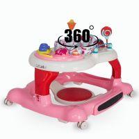 Coccolle - Premergator cu centru de activitati Arlo roz