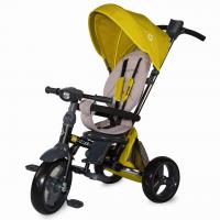 Tricicleta pliabila 4in1 cu sezut reversibil Coccolle Velo Mustar