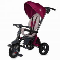 Tricicleta pliabila 4in1 cu sezut reversibil Coccolle Velo Violet resigilat