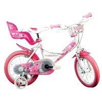 Dino Bykes - Bicicleta fete cu roti ajutatoare 14 inch RN144