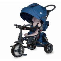 Coccolle - Tricicleta cu scaun rotativ Modi albastru