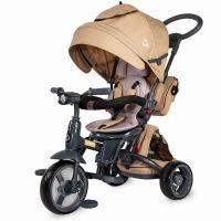 Coccolle - Tricicleta cu scaun rotativ Modi bej