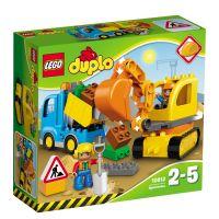Lego Duplo Camion si excavator pe senile L10812