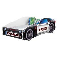 MyKids - Patut Tineret Race Car 03 Police 160x80