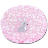 Perna anticolici cu samburi de cirese Kidizi Sweet Bunny, roz, 19 cm