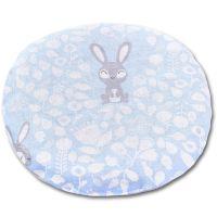 Perna anticolici cu samburi cirese Kidizi Blue Bunny, albastru, 19 cm