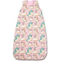 Sac de dormit copii reglabil 6- 36 luni Kidizi Pink Unicorn