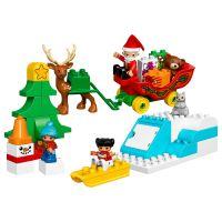 Lego Duplo Vacanta de iarna cu Mos Craciun L10837