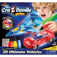 Cra Z Art - Set creatie 3D Ultimate Vehicles
