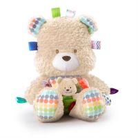 Bright Starts - Jucarie de plus Ursuletul cu puiut Snuggles Bear