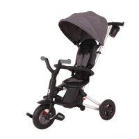 Tricicleta cu scaun rotativ Qplay Nova Air negru