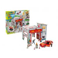 Set macheta Fire Station Revell JUNIOR