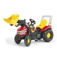 Rolly Toys - Tractor cu pedale copii 046775 Rosu