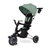 Tricicleta cu scaun rotativ Qplay Nova verde menta
