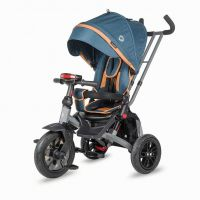 Tricicleta multifunctionala rotativa Coccolle Pianti True Blue