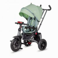 Tricicleta multifunctionala rotativa Coccolle Pianti Mint Green