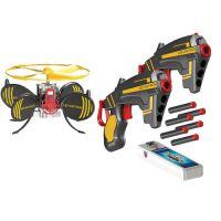 Hovertech - Tinta Zburatoare cu 2 Pistoale Battle FX