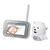Videointerfon digital bidirectional Vtech 4,3 inch BM4200, include melodii si termometru
