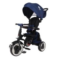 Tricicleta pliabila Qplay Rito+ Albastru