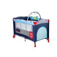 BabyGo - Patut pliant cu 2 nivele Sleep Well Car