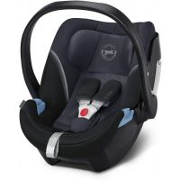 Scoica auto Cybex Aton 5 pentru bebelusi prematuri Granite Black