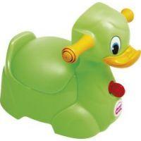 OkBaby - Olita Quack cu manere Verde