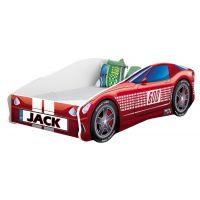 MyKids - Patut Tineret Race Car 01 Red 140x70