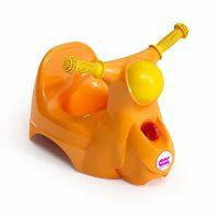 OKBaby Olita cu spatar ergonomic Scooter portocaliu
