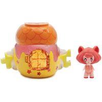 Giochi Preziosi - Figurina Glimmies in casuta portocalie