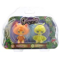 Giochi Preziosi - Set figurine glimmies Hazelyn si Lumix