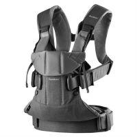 BabyBjorn - Marsupiu ergonomic One Air 0-3 ani Denim Grey