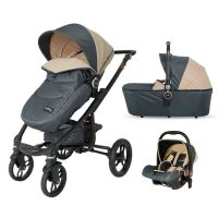 DHS Baby - Carucior 3 in 1 Arrow Bej