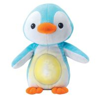 Jucarie de plus muzicala cu lumini Winfun Pinguin