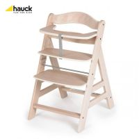 Hauck - Scaun lemn Alpha natur white