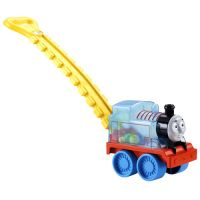 Fisher Price - Antepremergator Locomotiva Thomas cu bile si maner
