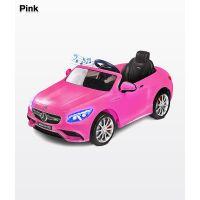 Masinuta electrica Toyz Mercedes-Benz S63 AMG 12V Pink cu telecomanda