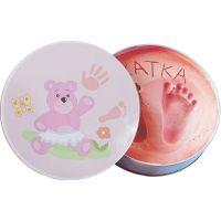 Cutie mulaj Pink Baby HandPrint
