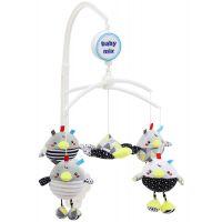 Carusel muzical pentru patut Baby Mix Birdies