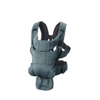 BabyBjorn - Marsupiu anatomic Move, Verde Salvie 3D Mesh