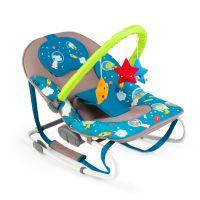 Balansoar bebe Juju Space Adventure Gri-Turcoaz
