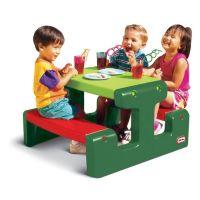 Little Tikes - Masuta picnic cu 4 locuri verde