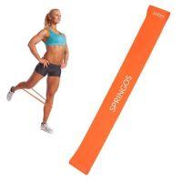 Banda elastica Power Band Springos cu intensitate mica 5-10 kg