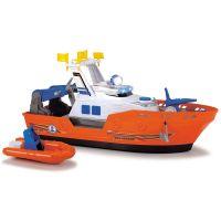 Barca de salvare Harbour Rescue Dickie Toys