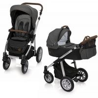 Carucior 2 in 1 Dotty Baby Design Black
