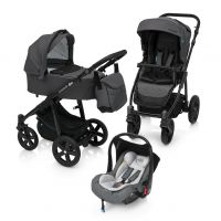 Carucior Multifunctional 3 in 1 Lupo Comfort Baby Design Graphite